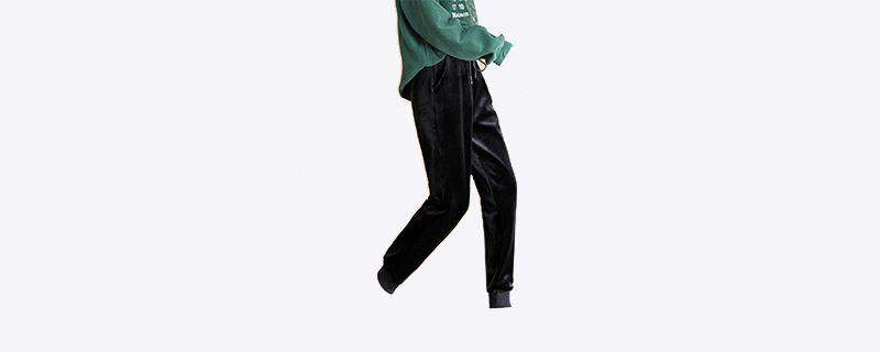 金丝绒运动裤搭配上衣.jpg