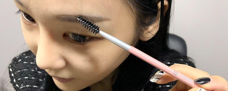 化妆不化眼妆图片