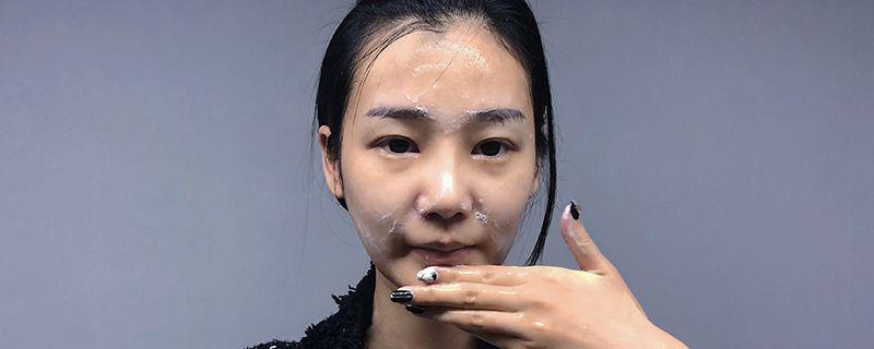 黄糖面膜使用方法图片