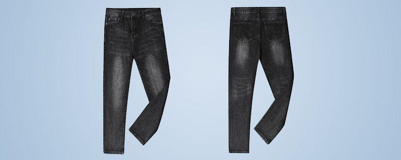 牛仔裤破洞怎么剪插图
