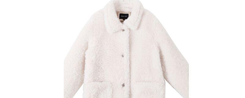 羊羔毛外套可以在洗衣机里洗么插图