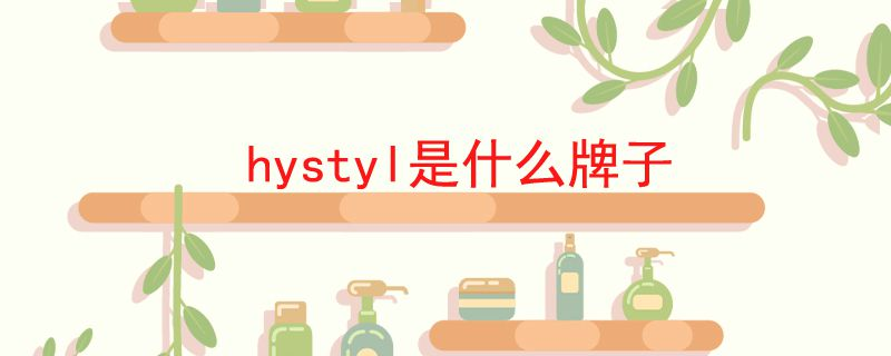 hystyl是什么牌子.jpg
